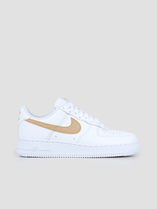 Nike Air Force 1 Lv8 White Club Gold White CW7567-101