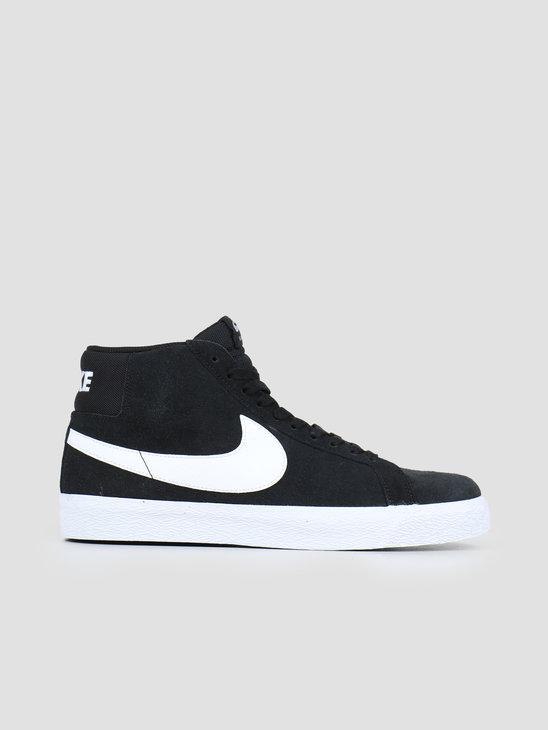 Nike SB Zoom Blazer Mid Black White White White 864349-002