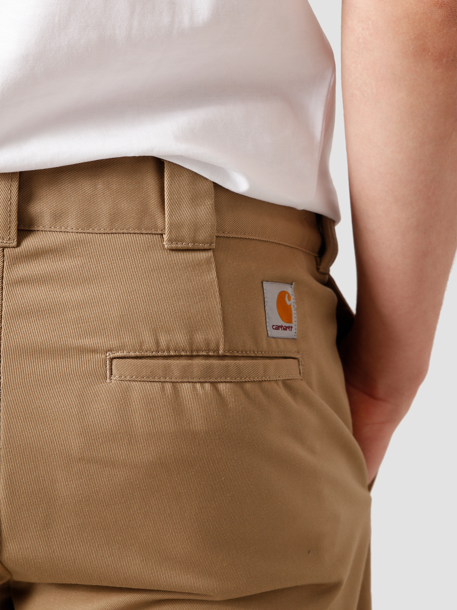 Carhartt WIP Carhartt WIP Master Pant Leather Rinsed I020074-8Y02