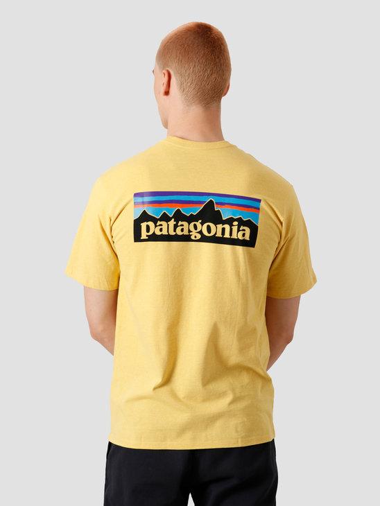Patagonia M's P-6 Logo Responsibili T-Shirt Surfboard Yellow 38504