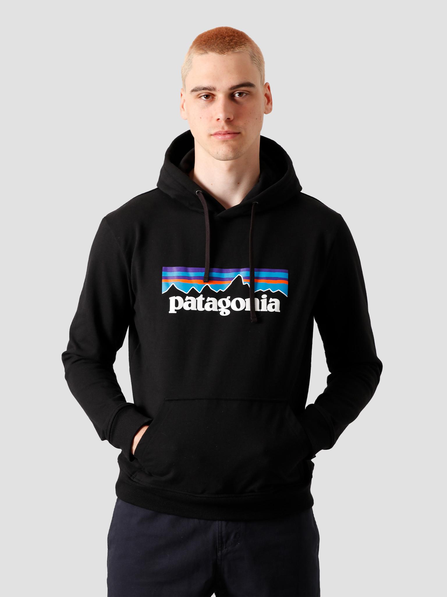 Patagonia Patagonia P-6 Logo Uprisal Hoody Black 39539