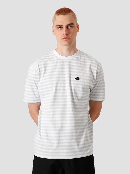 New Amsterdam Surf association Patch T-Shirt ballad blue white 2020003