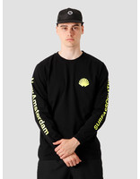 New Amsterdam Surf association New Amsterdam Surf association Logo Longsleeve Black Neon 2020004