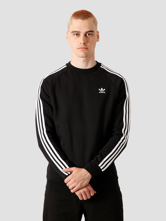 adidas 3-Stripes Crew Black DV1555
