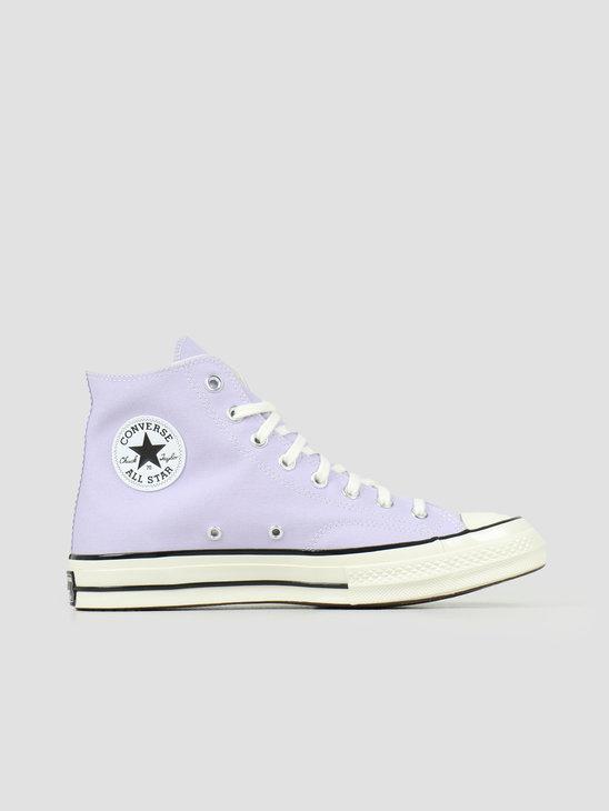 Converse Chuck 70 Hi Moonstone Violet Black Egret 167862C