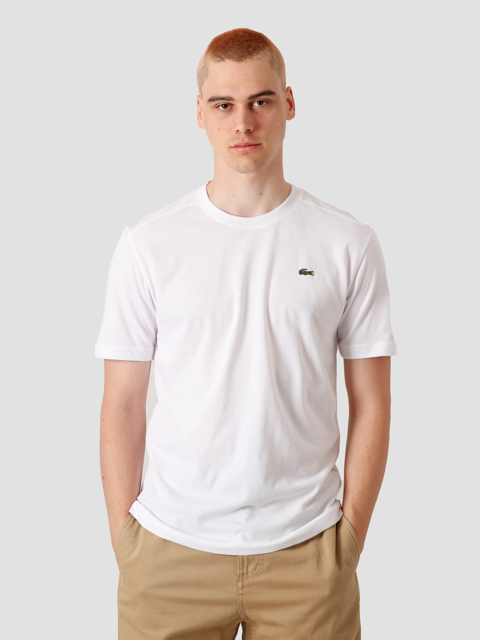 Lacoste Lacoste T-Shirt White TH761871-001