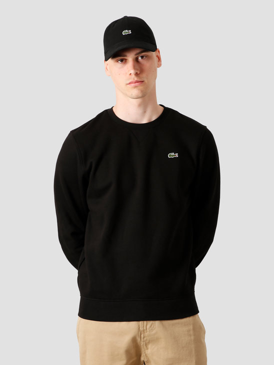 Lacoste 1Hs1 Men'S Sweatshirt 011 Black Sh7613-91