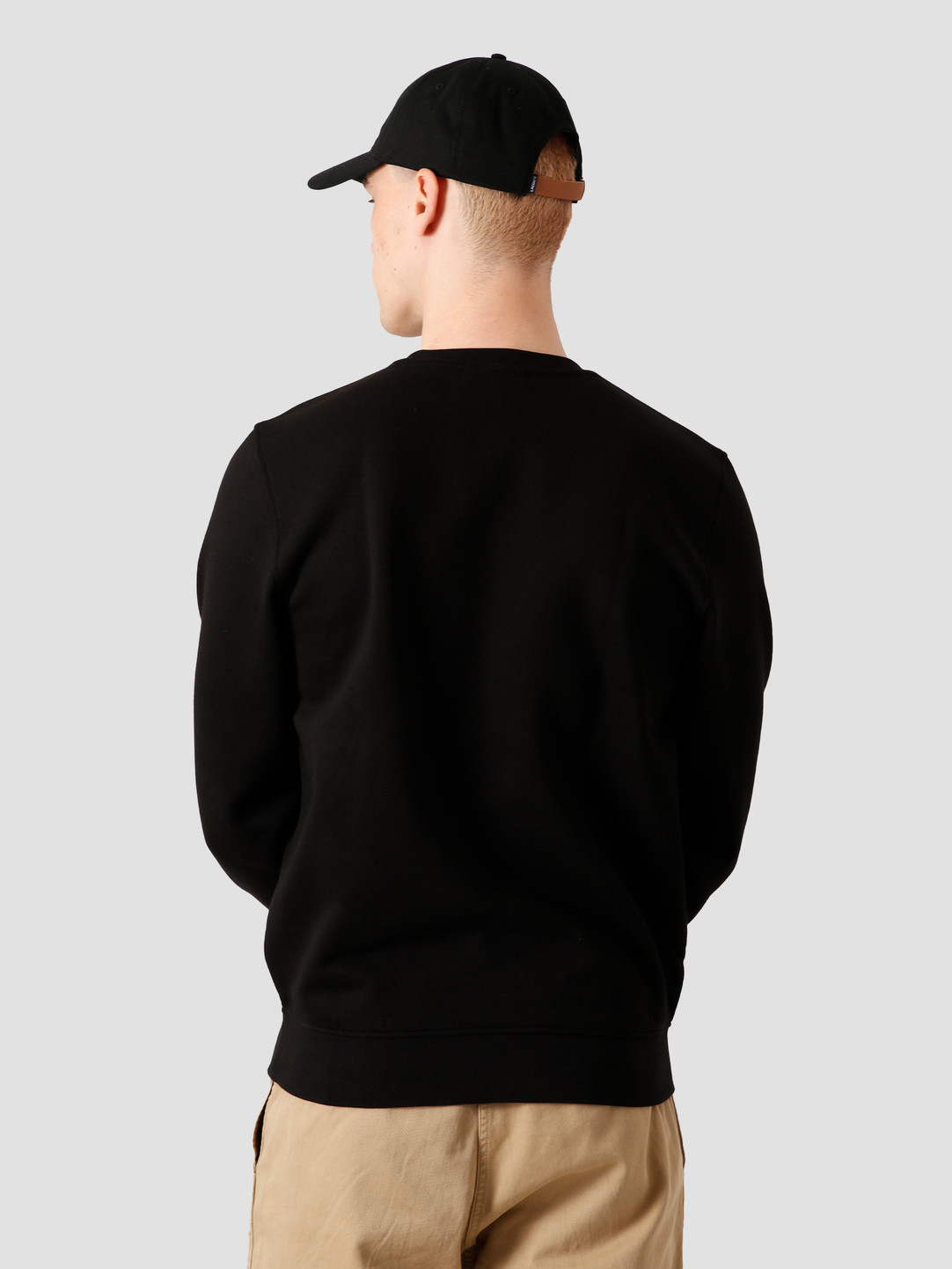 Lacoste Lacoste 1Hs1 Men'S Sweatshirt 011 Black Sh7613-91