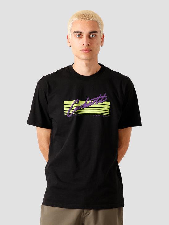 Carhartt WIP Horizon Script T-Shirt Black I027765-8900