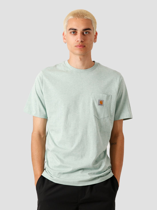 Carhartt WIP Pocket T-Shirt Zola Heather I022091-0C000