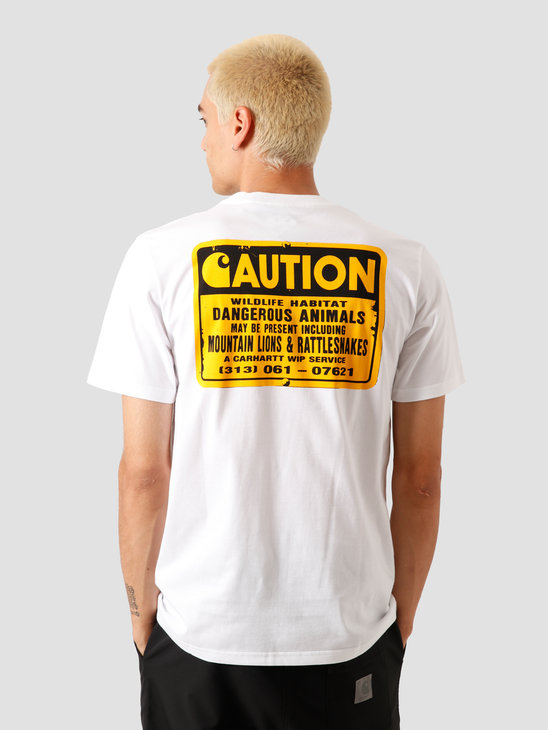 Carhartt WIP Rattlesnakes T-Shirt White I027809-200