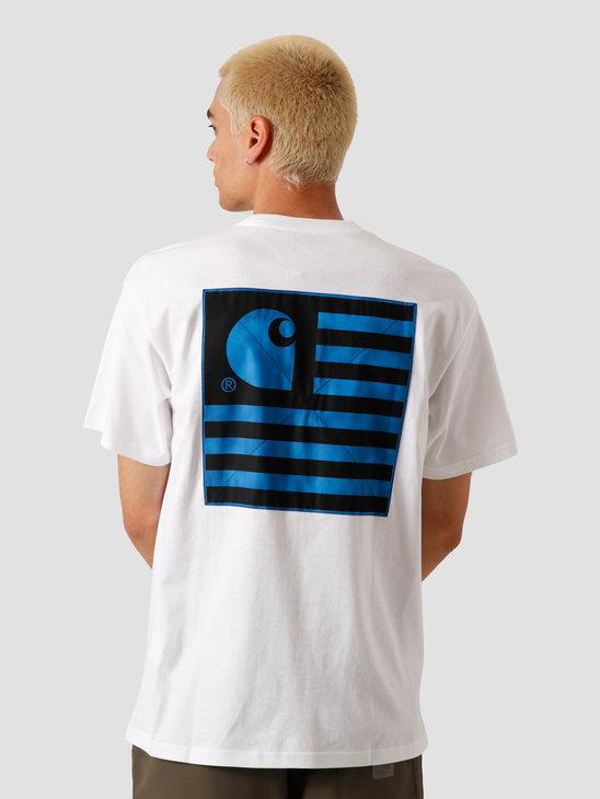 Carhartt WIP State Chromo T-Shirt White I027728-200