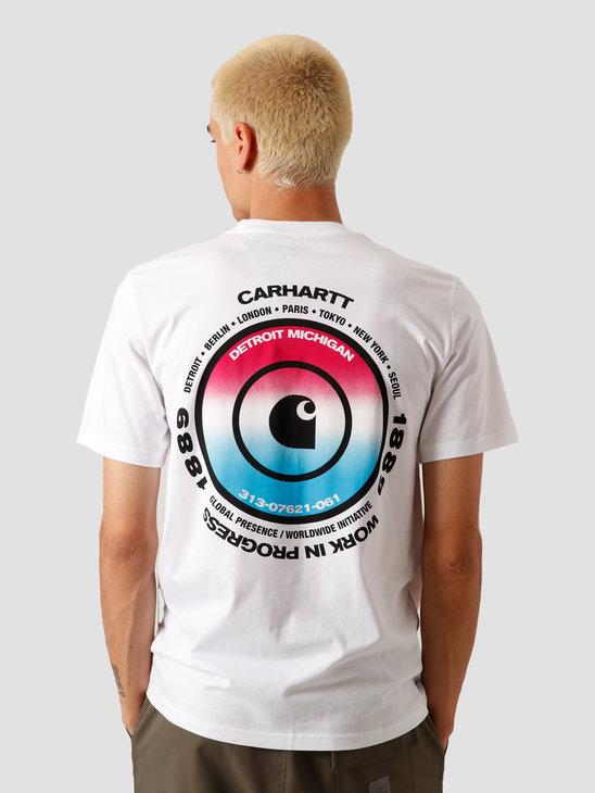 Carhartt WIP Worldwide T-Shirt White I027758-200