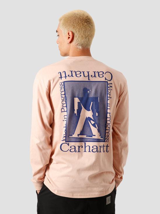 Carhartt WIP Foundation Longsleeve Powdery Blue I027755-08T90