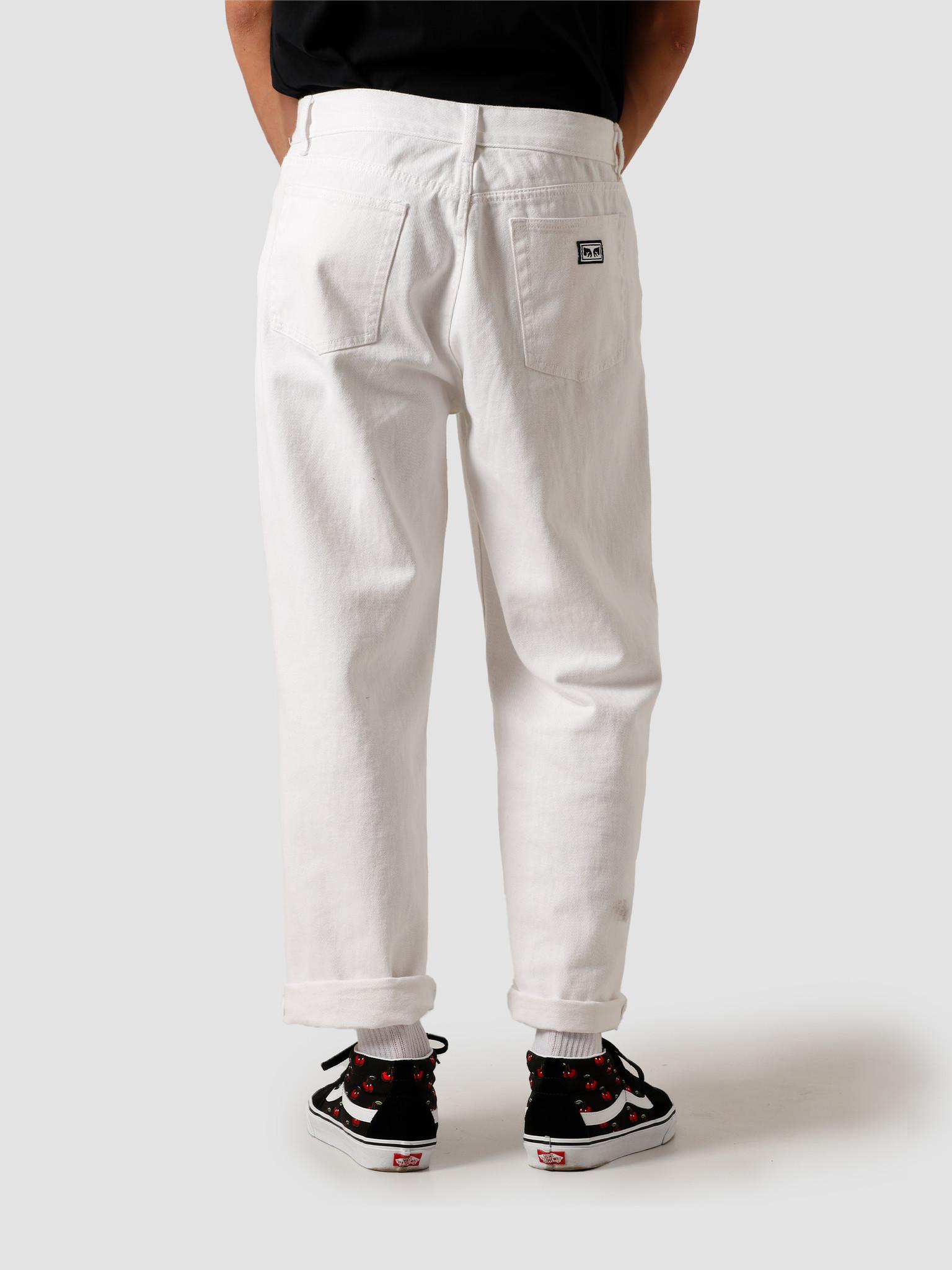 Obey Obey Hardwork Denim White 142010063-WHT