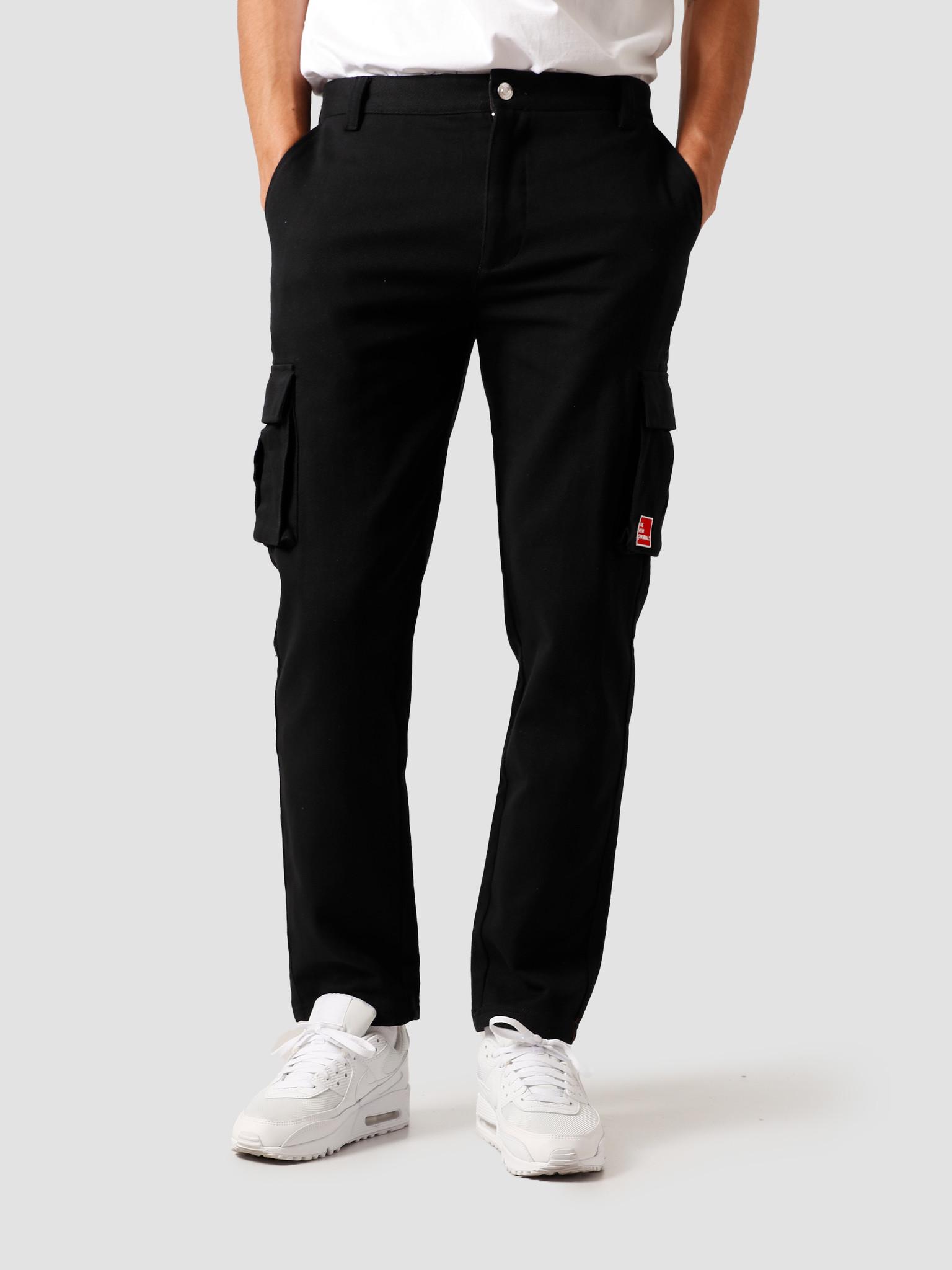 The New Originals The New Originals Carota Midfield Trousers Black