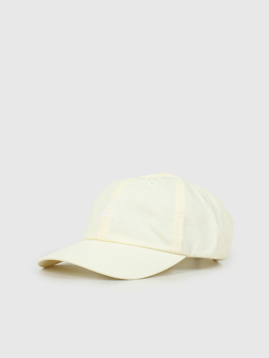 HUF Essentials TT CV 6 Panel Hat Off-White HT00346