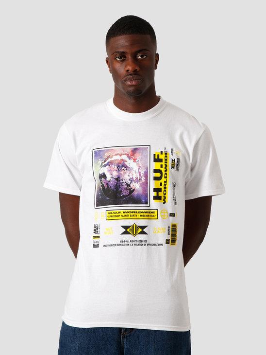 HUF Fidelity T-Shirt White TS01108