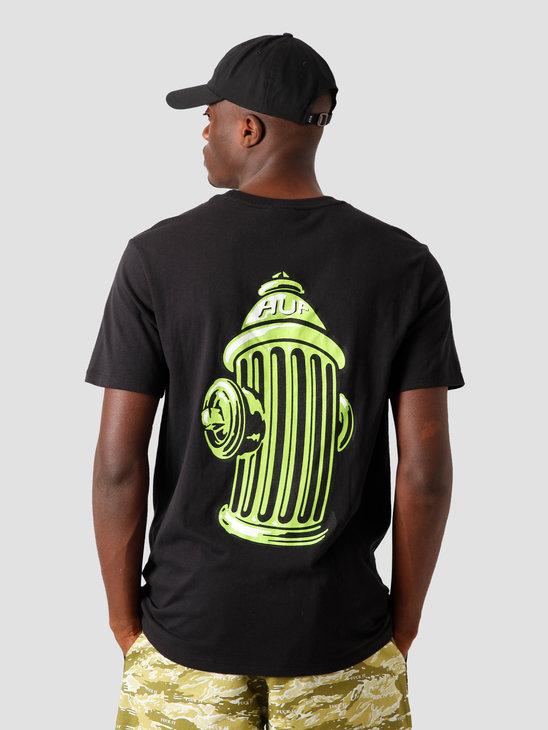 HUF Hydrant T-Shirt Black TS01107