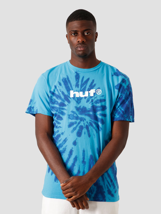 HUF Viral T-Shirt Pacific Blue TS01092