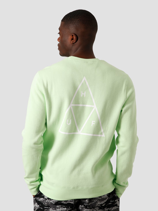 HUF Essentials TT Crew Mint PF00101