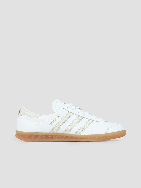 adidas Hamburg Footwear White Silver Gretwo EF5673