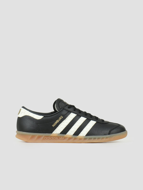 adidas Hamburg Core Black Footwear White Lush Red EF5674