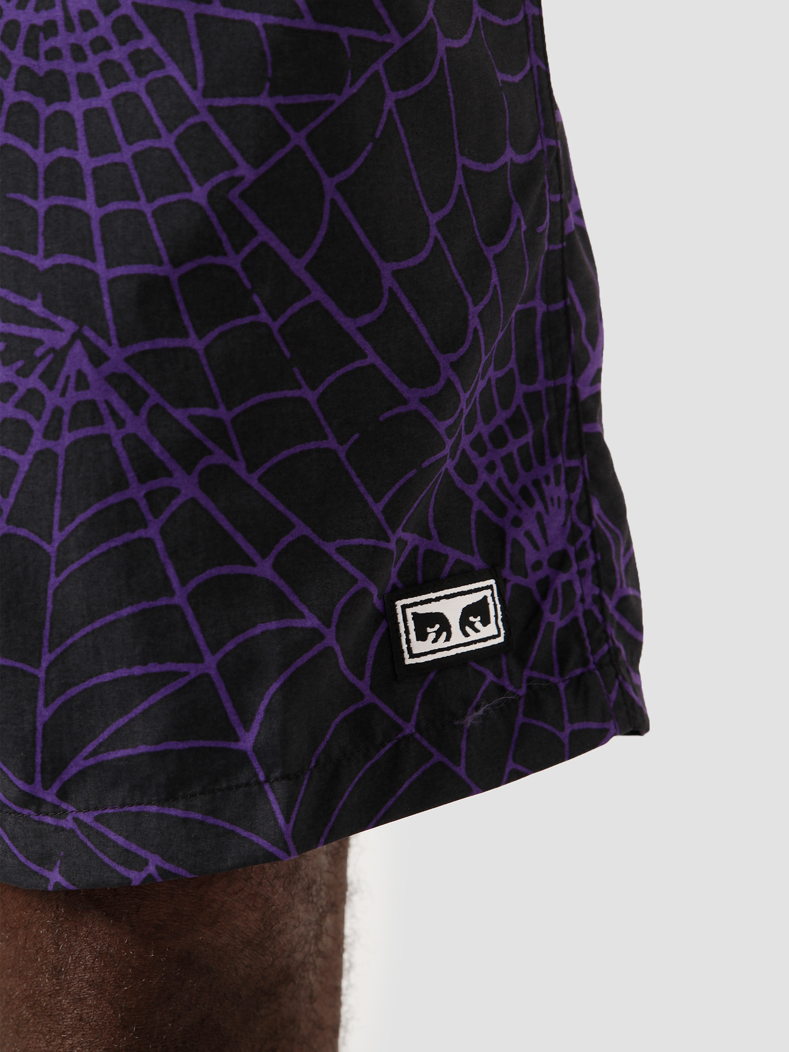 Obey Obey Easy Relaxed Web Short Multi 172120062 PXI
