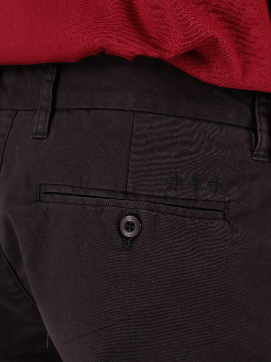 Quality Blanks Quality Blanks QB32 Chino Pant Black