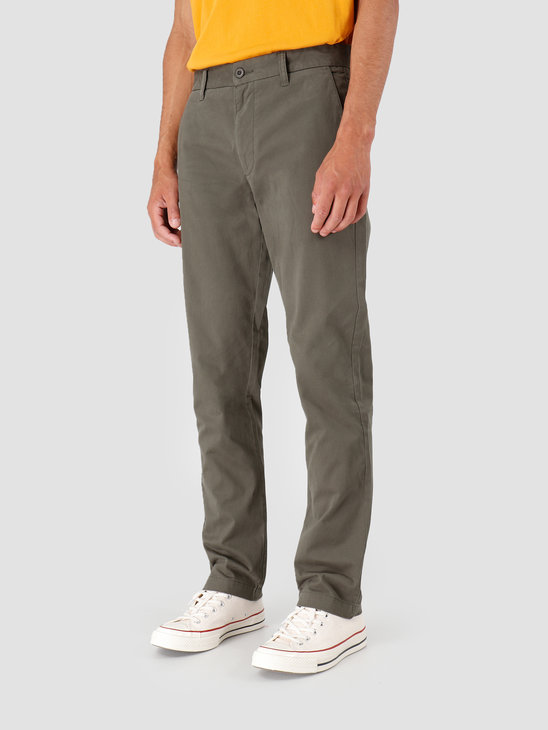 Quality Blanks QB32 Chino Pant Military Green