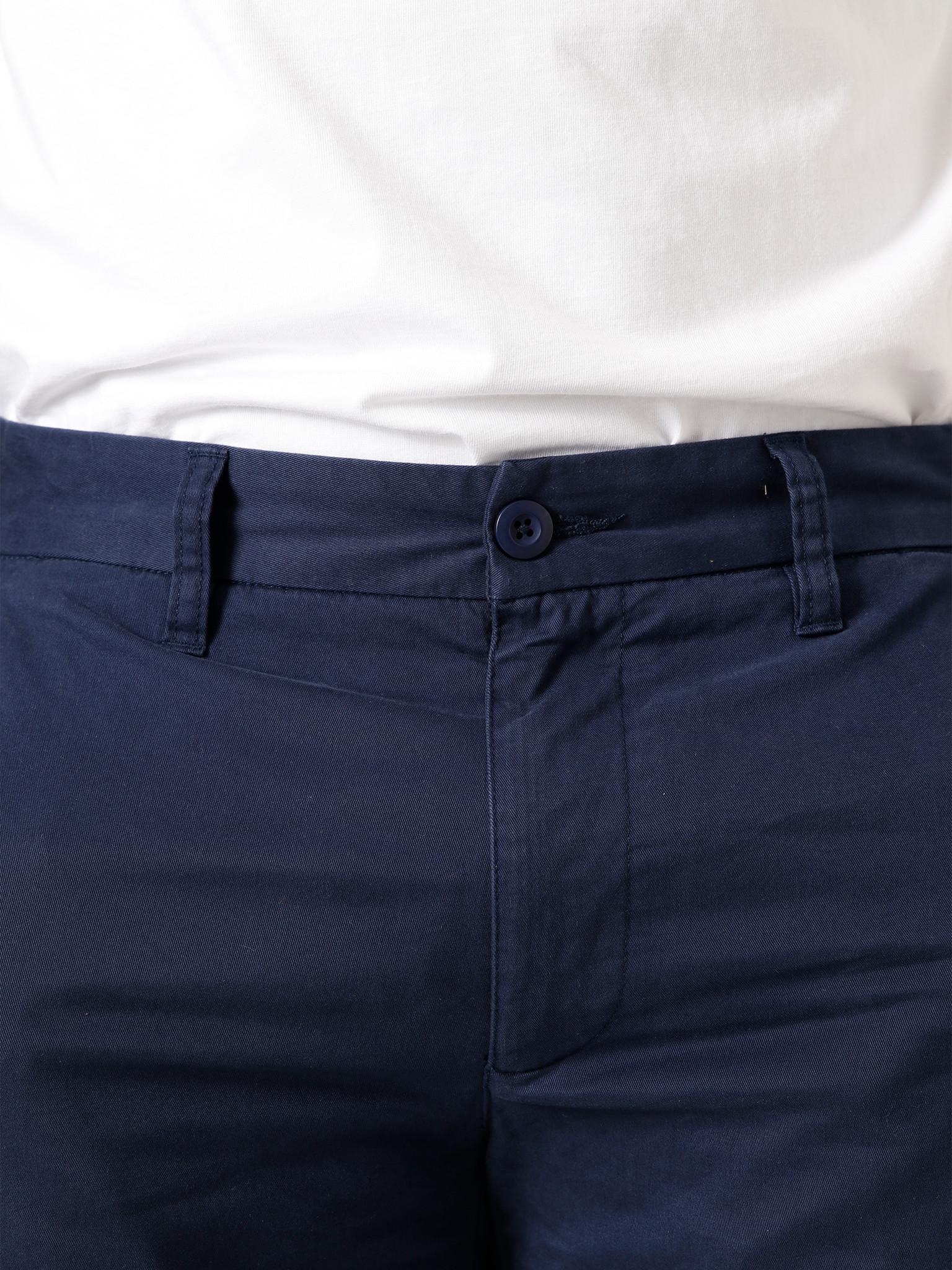 Quality Blanks Quality Blanks QB34 Chino Short Navy