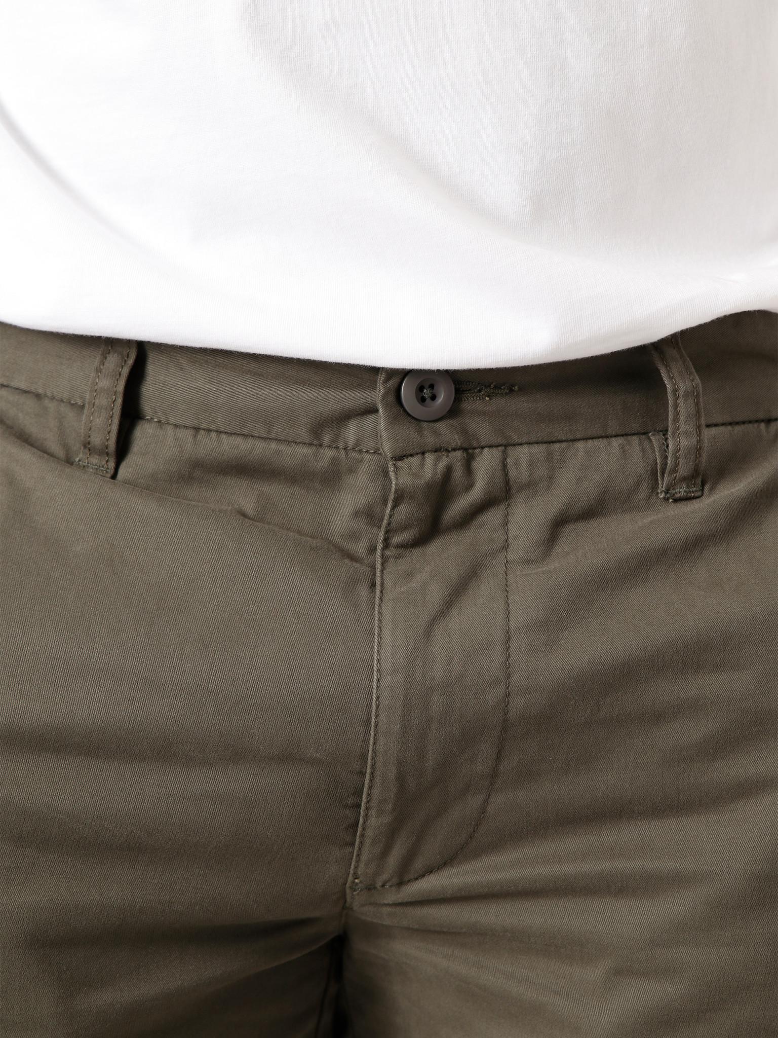 Quality Blanks Quality Blanks  QB34 Chino Short Military Green