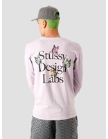 Stussy Stussy Design Labs Pigment Dyed Longsleeve T-Shirt Lavendar 1994562