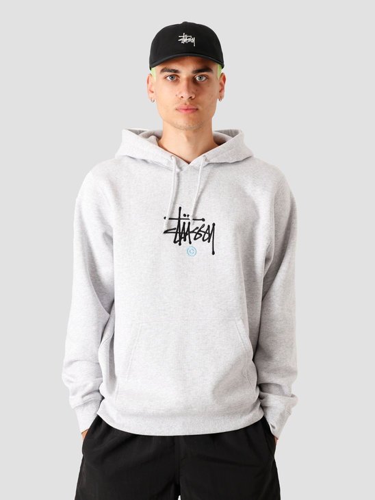 Stussy Copyright App. Hood Ash Heather 118377