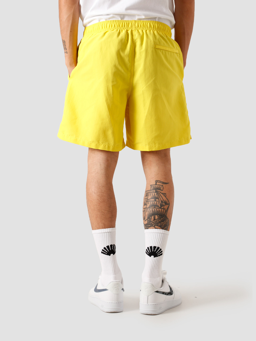 Stussy Stussy Stock Water Short Yellow 113120