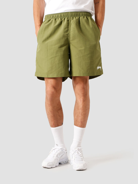 Stussy Stock Water Short Green 113120