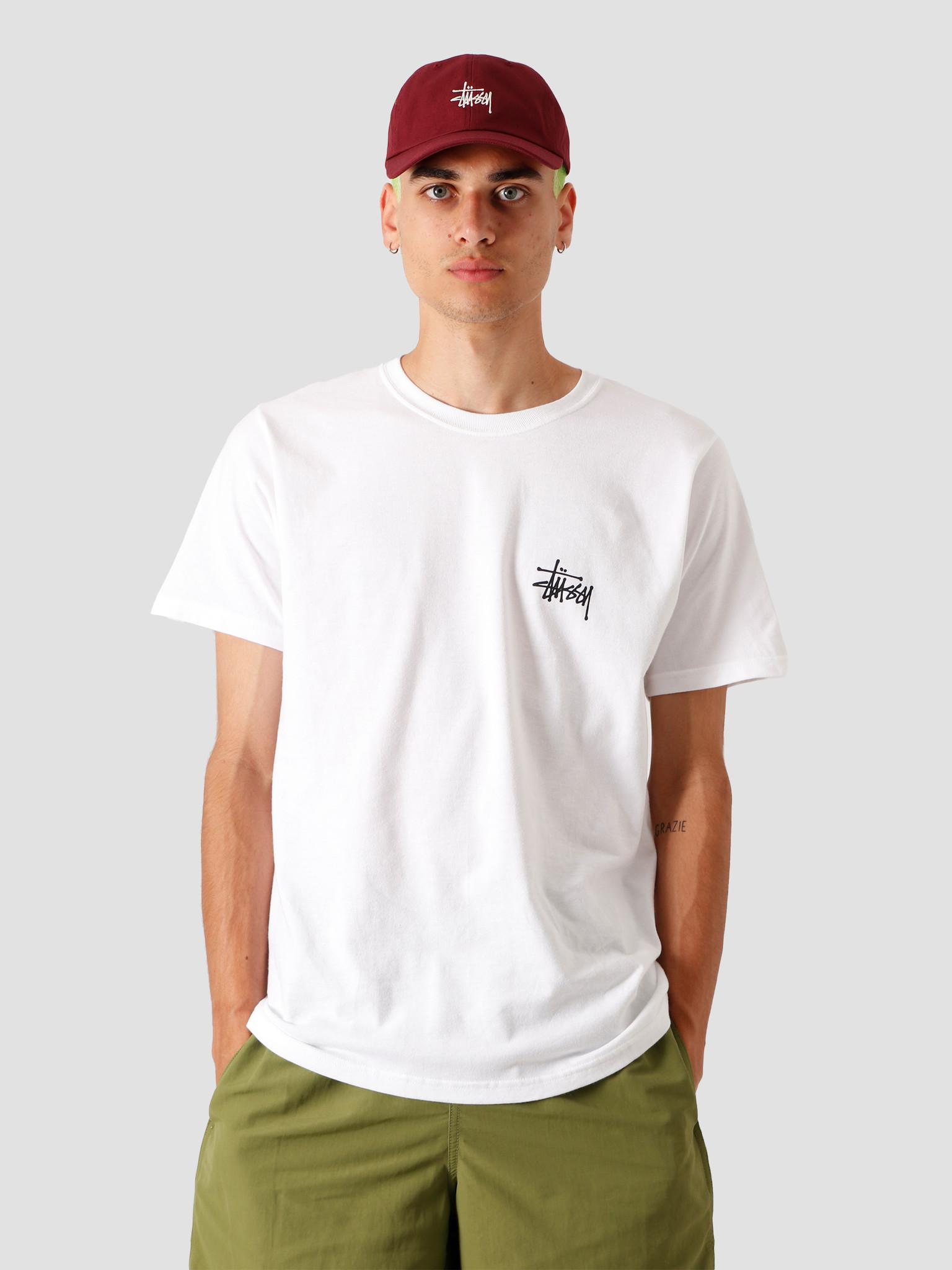 Stussy Stussy Basic T-Shirt White 1904535