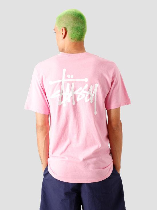 Stussy Basic T-Shirt Pink 1904535