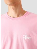 Stussy Stussy Basic T-Shirt Pink 1904535