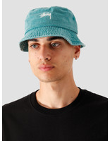 Stussy Stussy Stock Washed Bucket Hat Green 132980