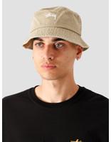 Stussy Stussy Stock Washed Bucket Hat Khaki 132980