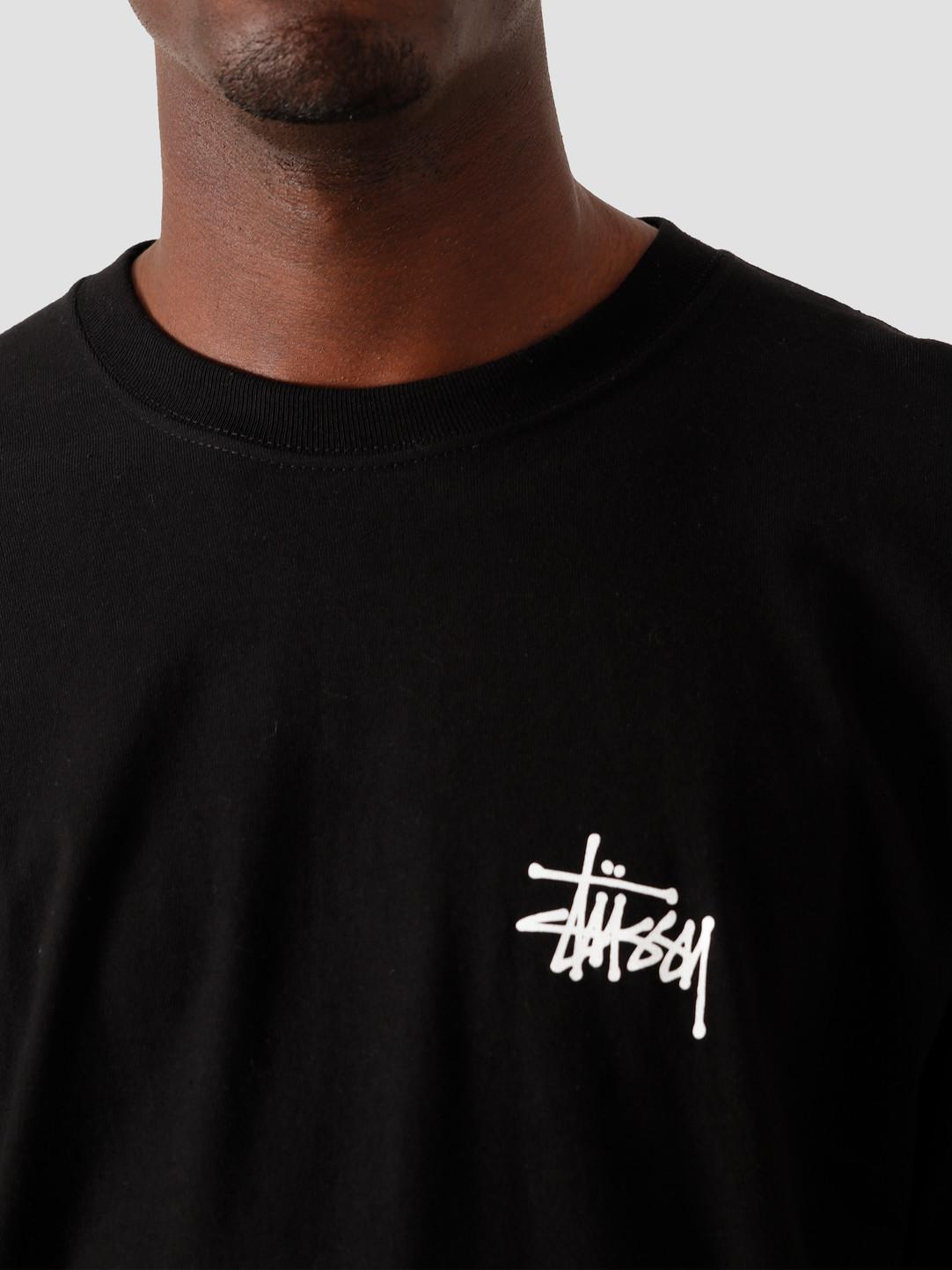 Stussy Stussy Basic Longsleeve T-Shirt Black 1994535
