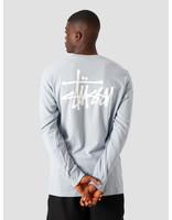 Stussy Stussy Basic Longsleeve T-Shirt Slate 1994535