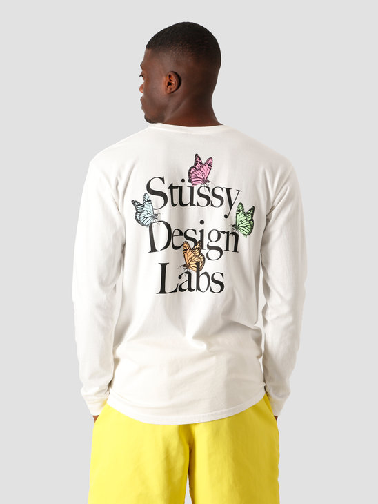 Stussy Design Labs Pigment Dyed Longsleeve T-Shirt Natural 1994562