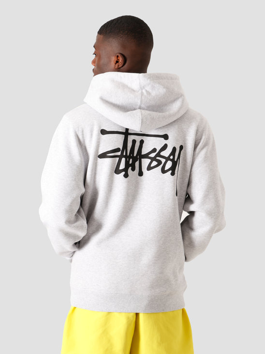 Stussy Basic Hood Ash Heather 1924535