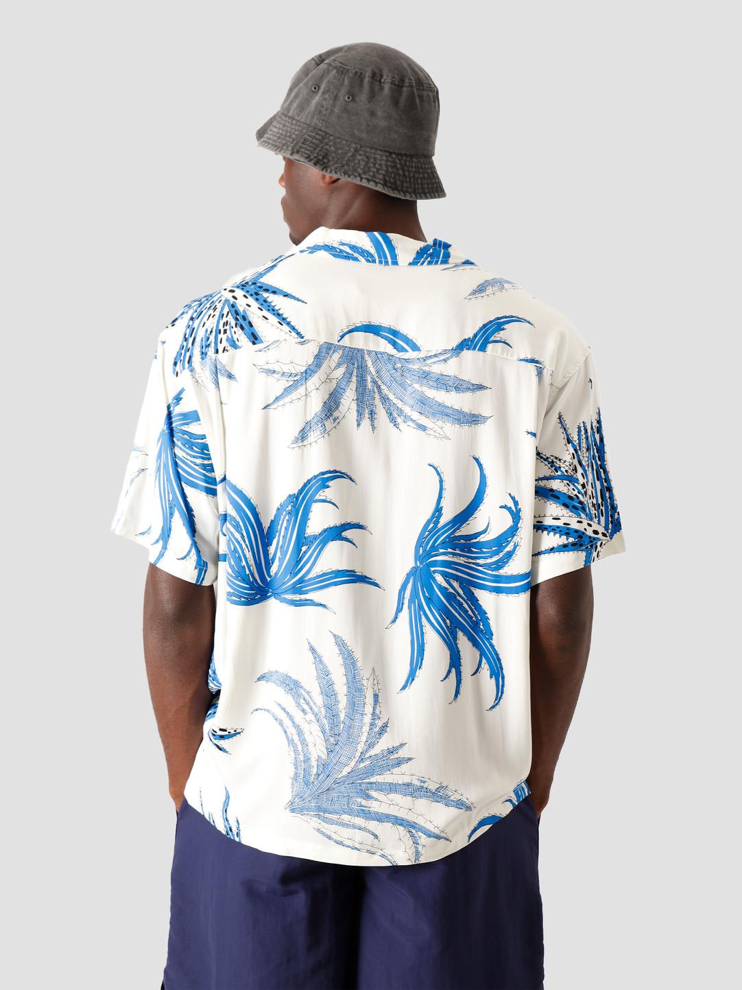 Stussy Stussy Cactus Rayon Shirt White 1110112