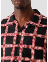 Stussy Stussy Hand Drawn Plaid Shirt Black 1110117