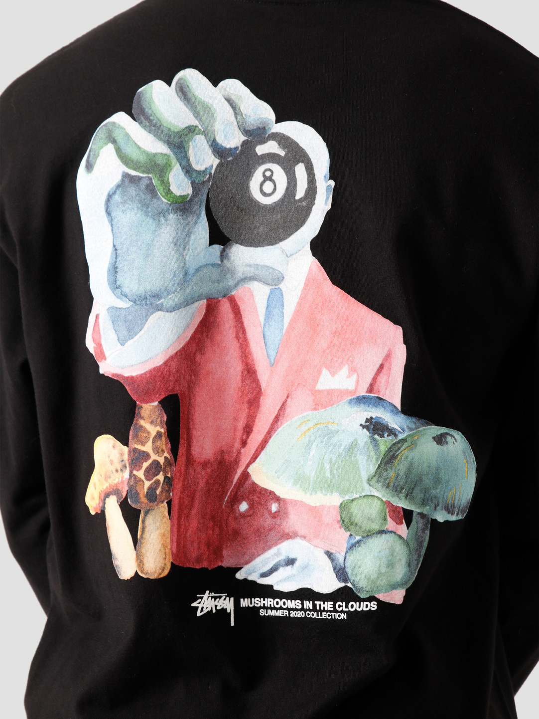 Stussy Stussy In The Clouds Longsleeve T-Shirt Black 1994559