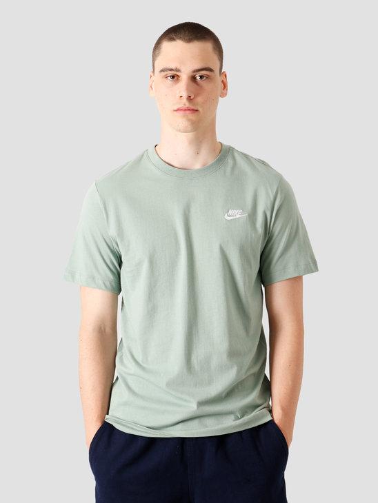 Nike NSW Club T-Shirt Silver Pine White AR4997-352