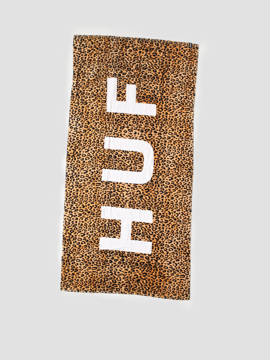 HUF Beach Towel Leopard AC00360